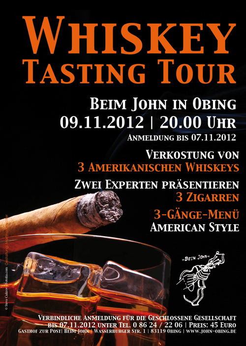 Whiskey Tasting Tour