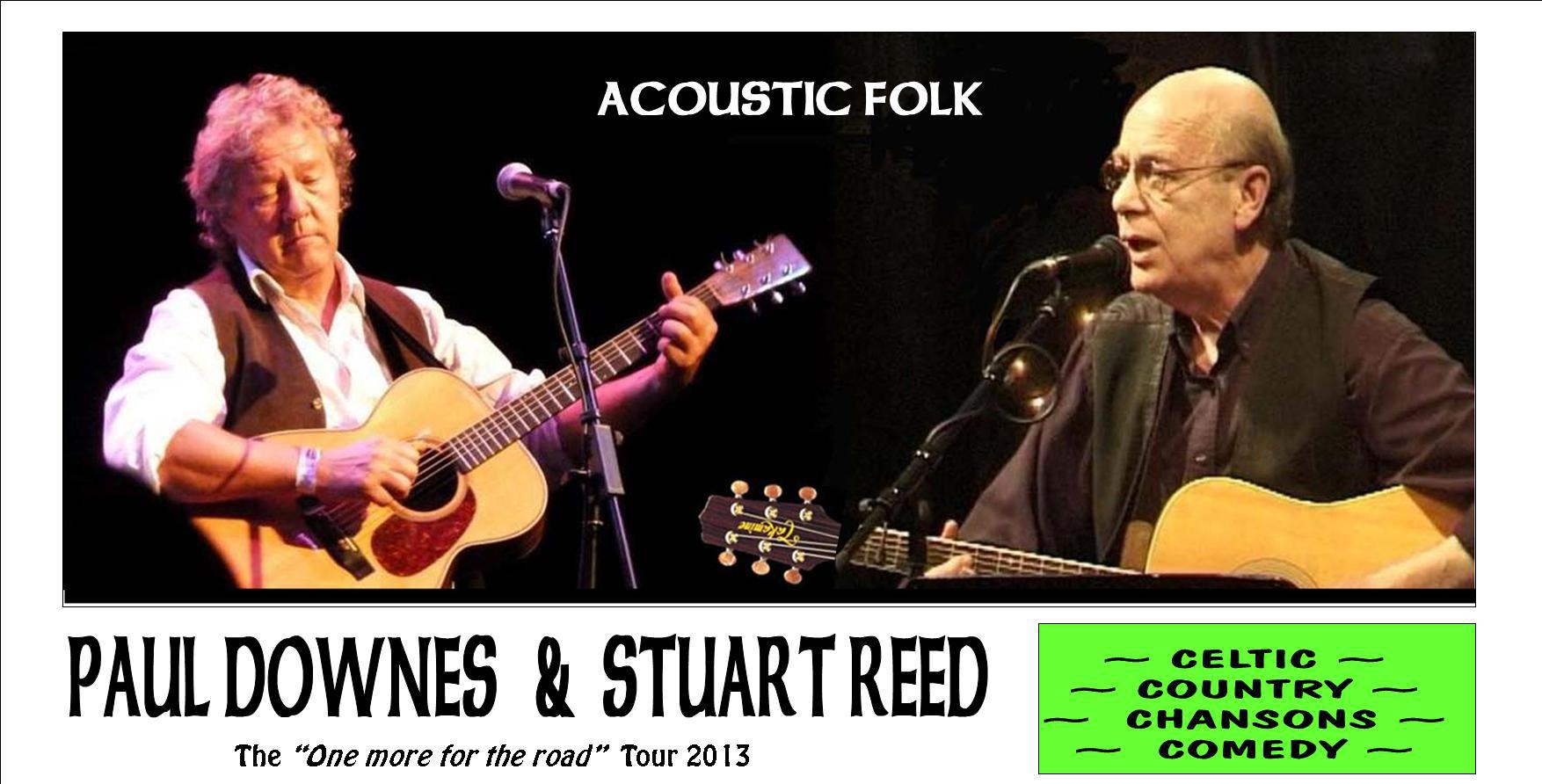 Paul Downes & Stuart Reed