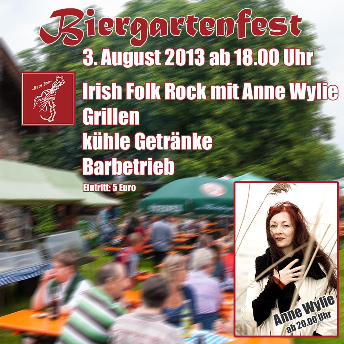 Biergartenfest - Gasthof zur Post - Obing