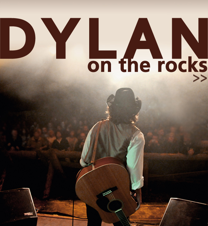 dylan on the rocks