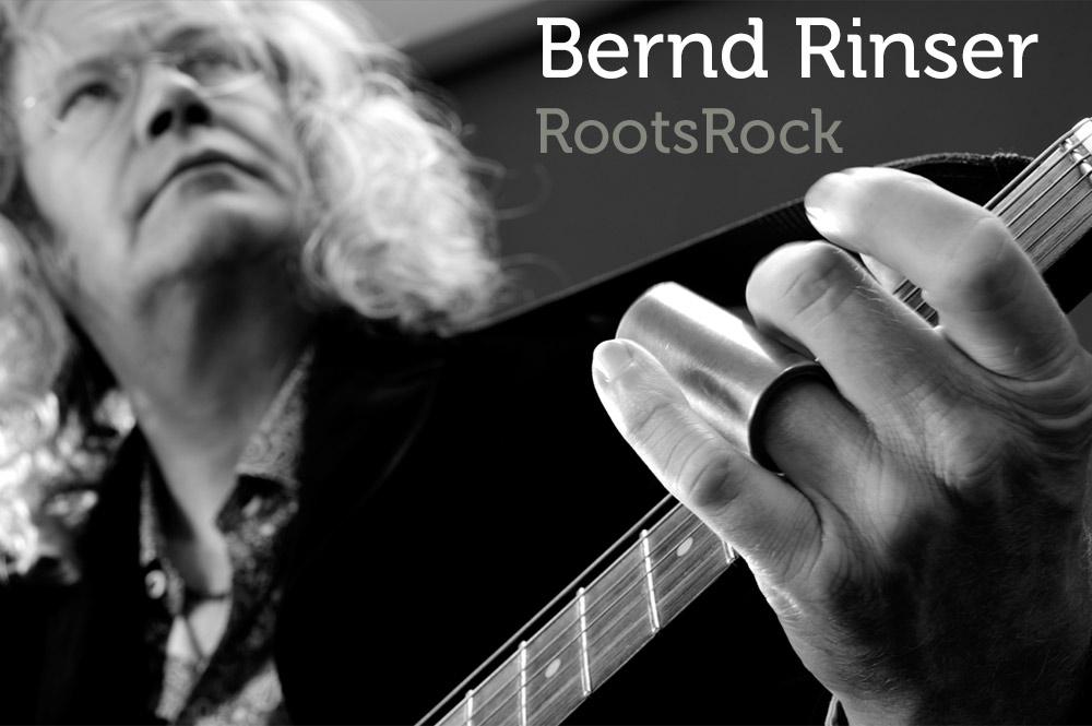 Bernd Rinser - Roots Rock - Kultur im Biergarten