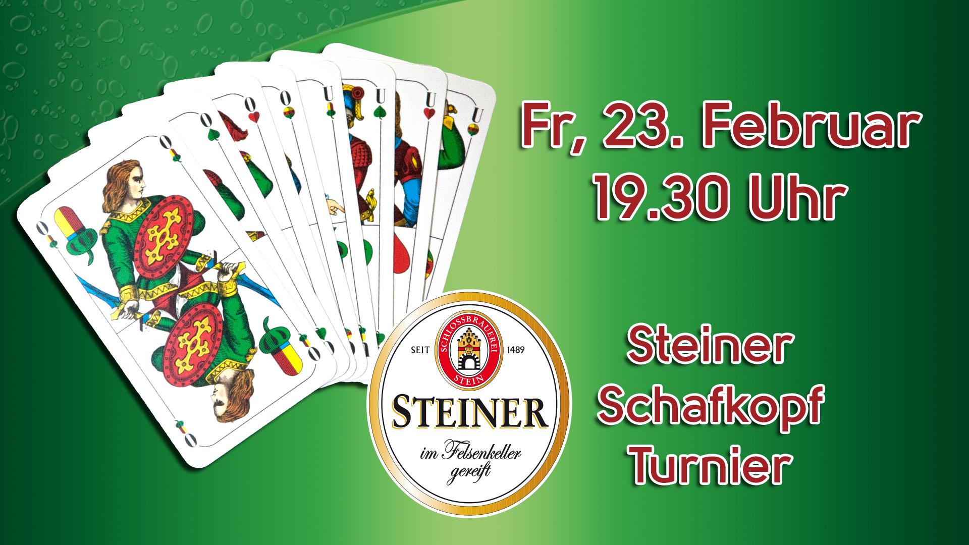 Steiner Schafkopfturnier