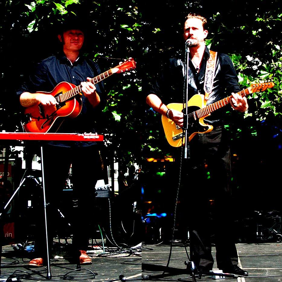 Titus Waldenfels und Nico Röwenstrunk