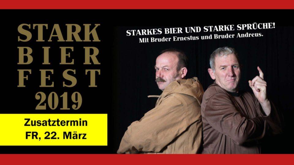 Starkbierfest 2019 Zusatztermin