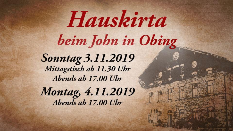 Hauskirta 2019 beim John