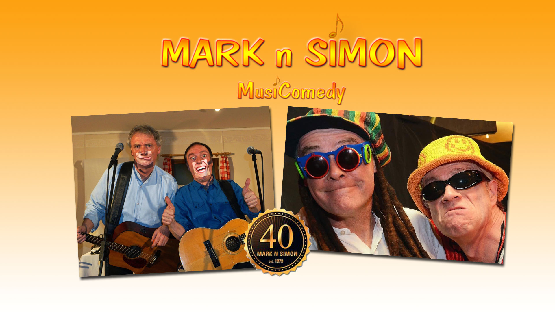 40 Jahre Mark 'n' Simon - MusiComedy