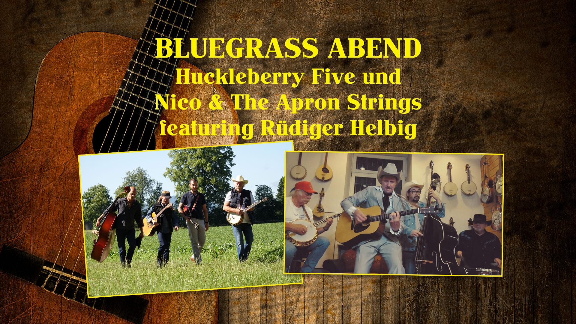 Huckleberry Five und Nico & The Apron Strings